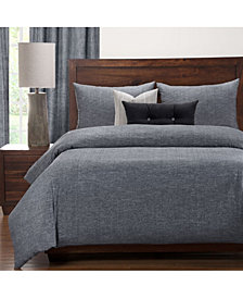 Siscovers Pacific Black Sand 6 Piece Cal King High End Duvet Set