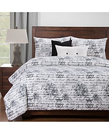 Promenade 5 Piece Twin Luxury Duvet Set