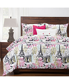 Siscovers Parks And Rec 6 Piece Queen Luxury Duvet Set