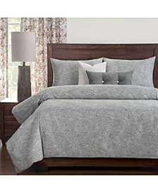 Newport 6 Piece Full Size Luxury Duvet Set
