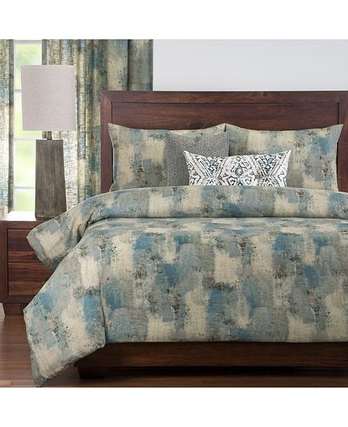 PoloGear Calcutta Teal 6 Piece Full Size Luxury Duvet Set