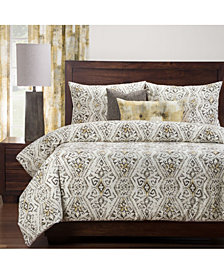 Pologear Malta Gold 5 Piece Twin Luxury Duvet Set