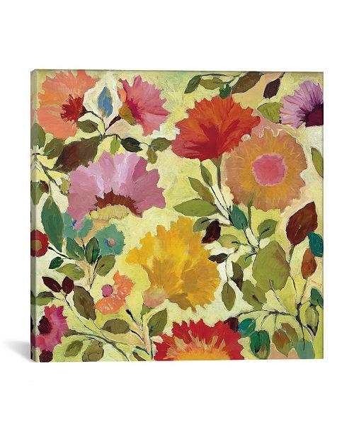 "iCanvas ""Nasturtiums"" By Kim Parker Gallery-Wrapped Canvas Print - 18"" x 18"" x 0.75"""