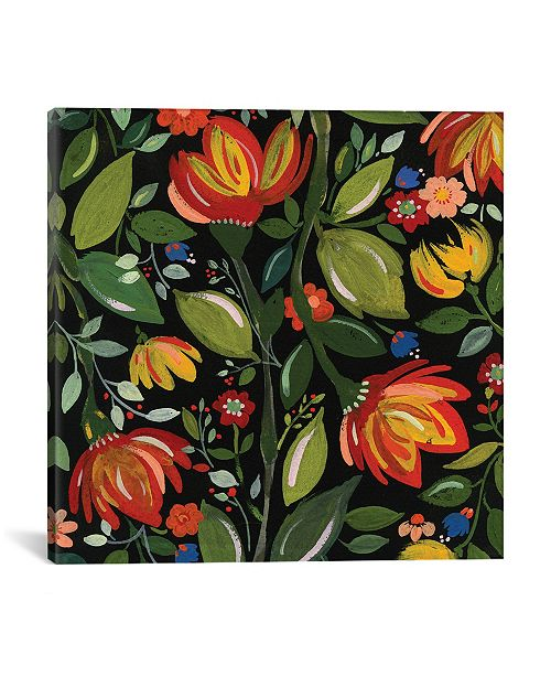 "iCanvas ""Haitian Flowers"" By Kim Parker Gallery-Wrapped Canvas Print - 26"" x 26"" x 0.75"""