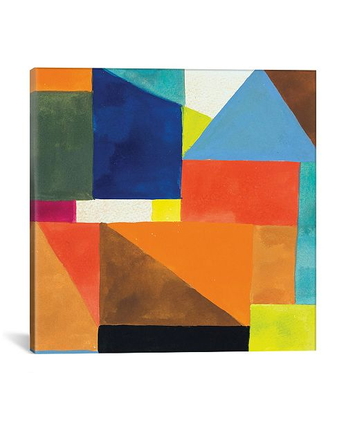 """iCanvas """"Brussels No. 2"""" By Kim Parker Gallery-Wrapped Canvas Print - 37"""" x 37"""" x 0.75"""""""