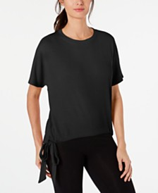 Ideology Tie-Hem Top, Created for Macy's