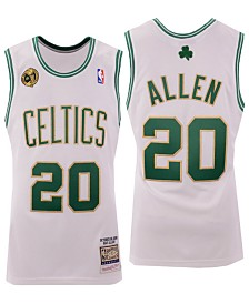 Mitchell & Ness Men's Ray Allen Boston Celtics Authentic Jersey