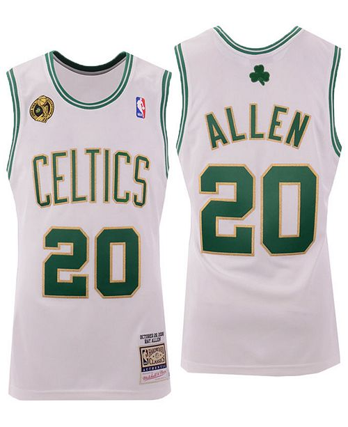 quality design 0916a 347bb Men's Ray Allen Boston Celtics Authentic Jersey
