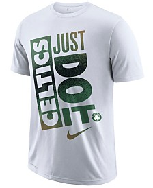 Nike Men's Boston Celtics Just Do It Mezzo T-Shirt