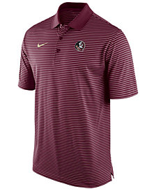 Nike Men's Florida State Seminoles Stadium Stripe Polo
