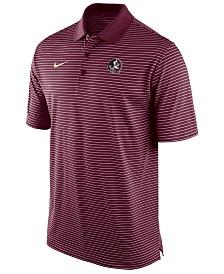 Nike Men's Florida State Seminoles Stadium Stripe Polo