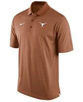 569912fbe9d Nike Men s Texas Longhorns Stadium Stripe Polo