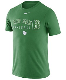 Nike Men's Boston Red Sox Clover Dri-FIT Practice T-Shirt