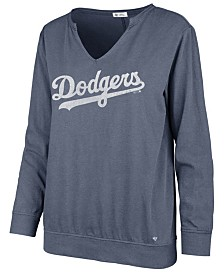 '47 Brand Women's Los Angeles Dodgers Gamma Long Sleeve T-Shirt