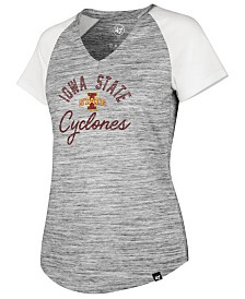 '47 Brand Women's Iowa State Cyclones Haze Raglan T-Shirt