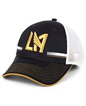 the latest 67179 e2247 Authentic MLS Headwear Los Angeles Football Club Iconic Trucker Snapback Cap