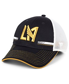 Authentic MLS Headwear Los Angeles Football Club Iconic Trucker Snapback Cap