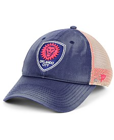 Authentic MLS Headwear Orlando City SC Americana Trucker Snapback Cap