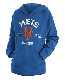 New Era Big Boys New York Mets Fleece Pullover Hoodie