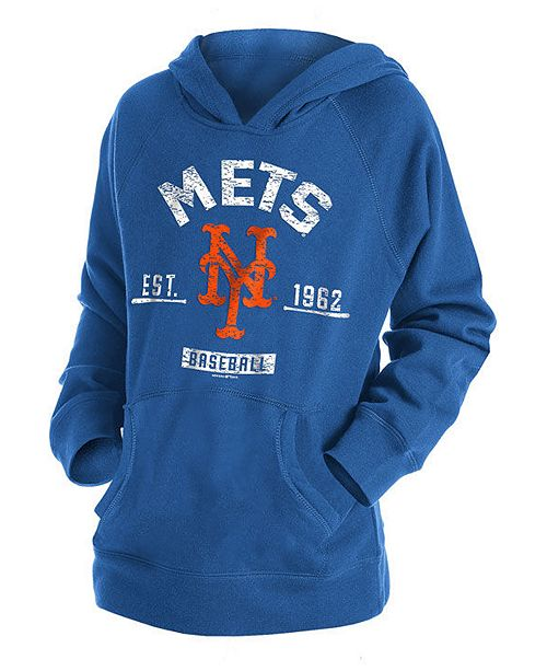 wholesale dealer cf6a9 5b312 Big Boys New York Mets Fleece Pullover Hoodie