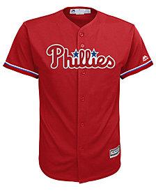 Majestic Big Boys Philadelphia Phillies Blank Replica Jersey