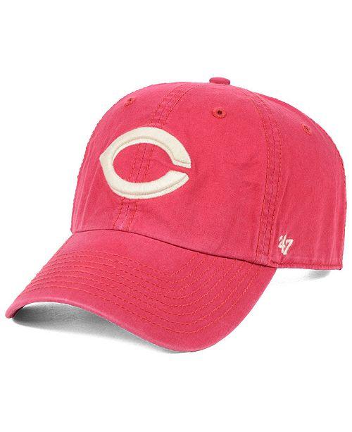 info for 3e3db 10f65 ...  47 Brand Cincinnati Reds Hudson CLEAN UP Cap    ...