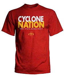 Men's Iowa State Cyclones Cyclone Nation Basketball T-Shirt