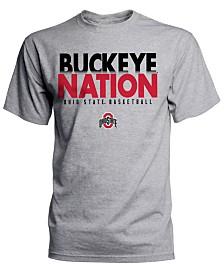 J America Men's Ohio State Buckeyes Buckeye Nation Basketball T-Shirt