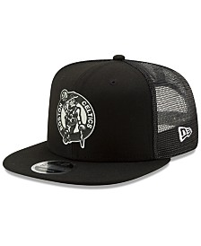 New Era Boston Celtics Dub Fresh Trucker 9FIFTY Snapback Cap