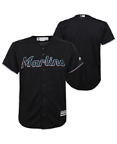 a81e0787e Majestic Big Boys Miami Marlins Blank Replica Jersey