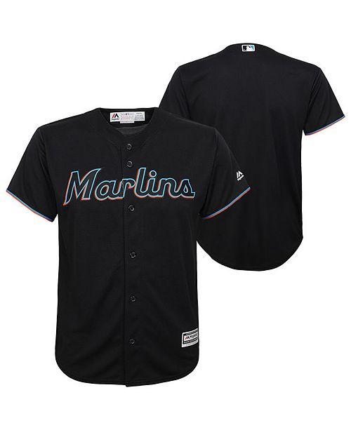 67299bab Majestic Big Boys Miami Marlins Blank Replica Jersey - Sports Fan ...