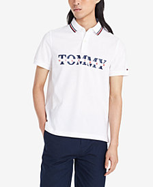 Tommy Hilfiger Men's Big and Tall Lance Logo Polo