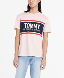 Tommy Hilfiger Denim Men's Willowbrook Logo Graphic T-Shirt