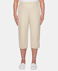 Martinique Pull-On Cropped Pants