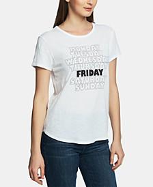 Friday-Print T-Shirt