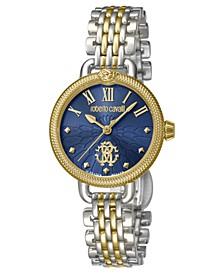 By Franck Muller Women's Swiss Quartz Two-Tone Stainless Steel Bracelet Watch, 30mm
