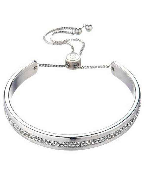 Nicole Miller Bracelet with All Over Glass Accents