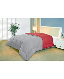 Reversible Down Alternative Comforter, Twin