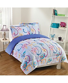Flutter 3-Piece Comforter Set, Full
