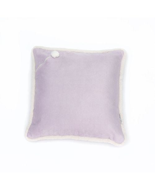 Mimish Corduroy Metallic X-Large Square Storage Floor Pillow with Sherpa Trim and Pocket