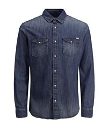 Men's Sheridan Push Button Denim Shirt