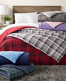 Martha Stewart Collection Essentials Reversible Down Alternative Comforter, Created for Macy's