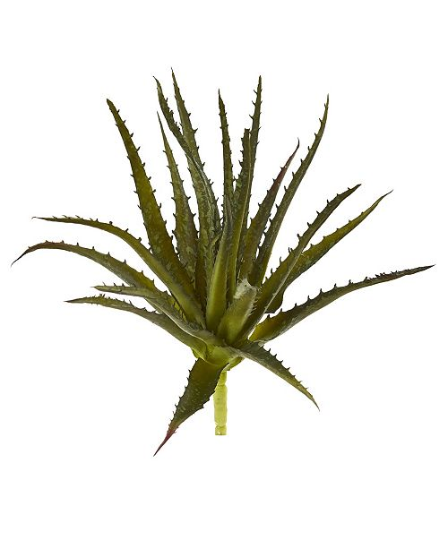 """Nearly Natural 10"""" Aloe Pick Artificial Plant (Set of 6)"""