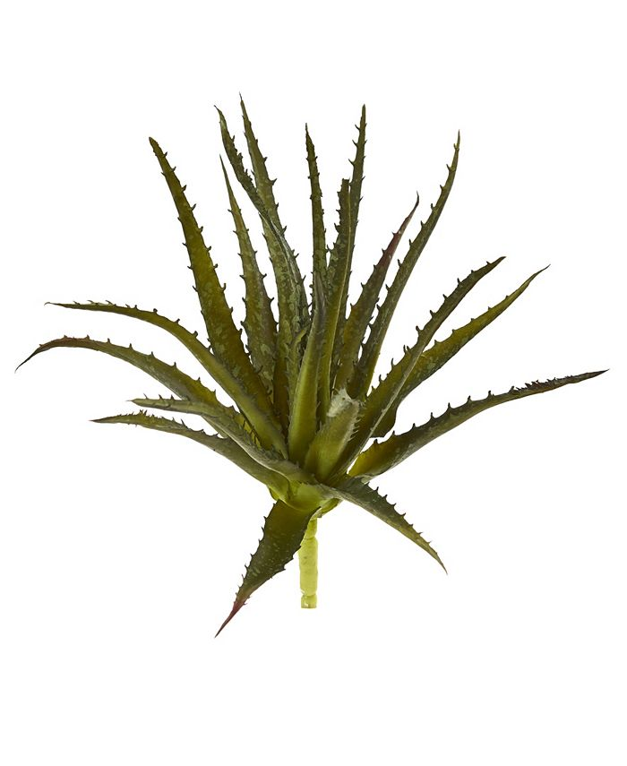 """Nearly Natural - 10"""" Aloe Pick Artificial Plant (Set of 6)"""