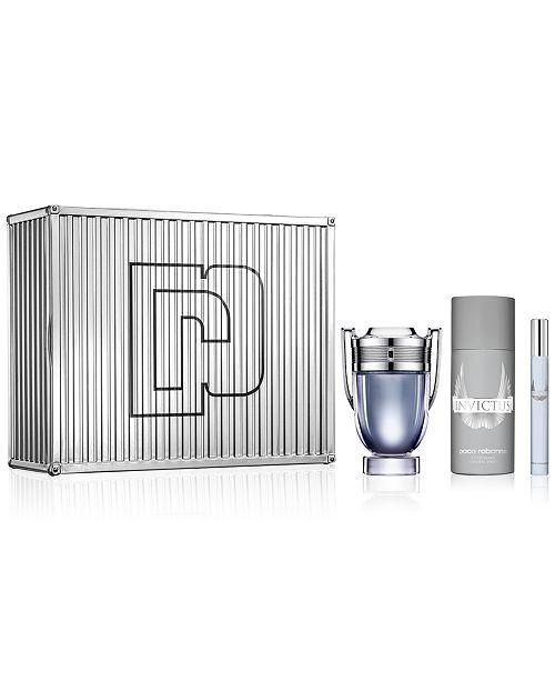 Paco Rabanne Invictus Eau de Toilette 3-Pc Gift Set