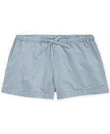 Polo Ralph Lauren Little Girls Gingham Cotton Poplin Shorts