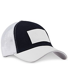 A|X Armani Exchange Men's Logo Patch Baseball Hat