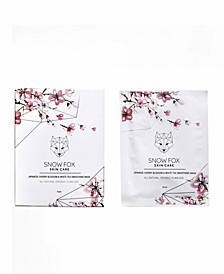 Japanese Cherry Blossom and White Tea Smoothing Mask, 5 Masks