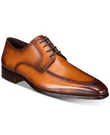 Massimo Emporio Men's Tanning Moc-Toe Derby Oxfords