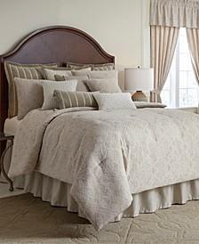 Laurenza 4 pc queen comforter set